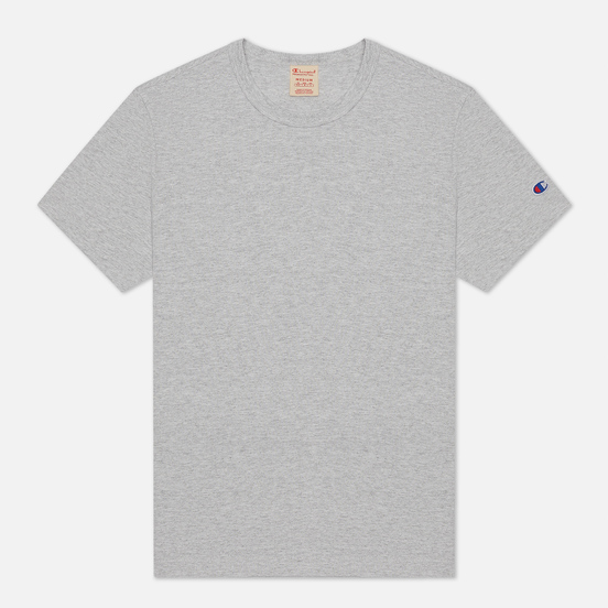 Мужская футболка Champion Reverse Weave Classic Crew Neck Premium Heather Grey