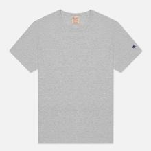 Мужская футболка Champion Reverse Weave Classic Crew Neck Premium Heather Grey фото- 0