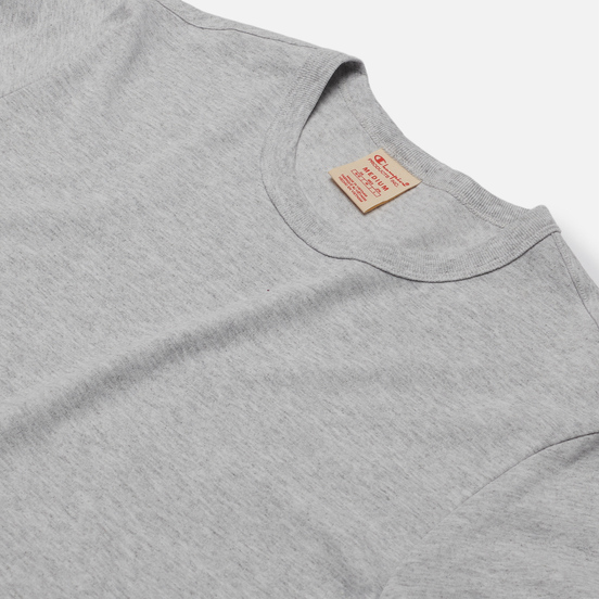 Мужская футболка Champion Reverse Weave Classic Crew Neck Premium Heather Grey