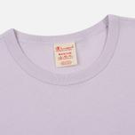 Мужская футболка Champion Reverse Weave Classic Crew Neck Premium Lavender фото- 1