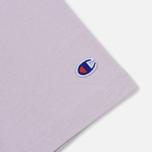 Мужская футболка Champion Reverse Weave Classic Crew Neck Premium Lavender фото- 2