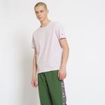 Мужская футболка Champion Reverse Weave Classic Crew Neck Premium Lavender фото- 3