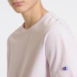 Мужская футболка Champion Reverse Weave Classic Crew Neck Premium Lavender фото- 4