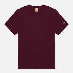 Мужская футболка Champion Reverse Weave Classic Crew Neck Premium Maroon