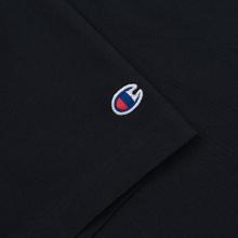 Мужская футболка Champion Reverse Weave Classic Crew Neck Premium Navy фото- 2