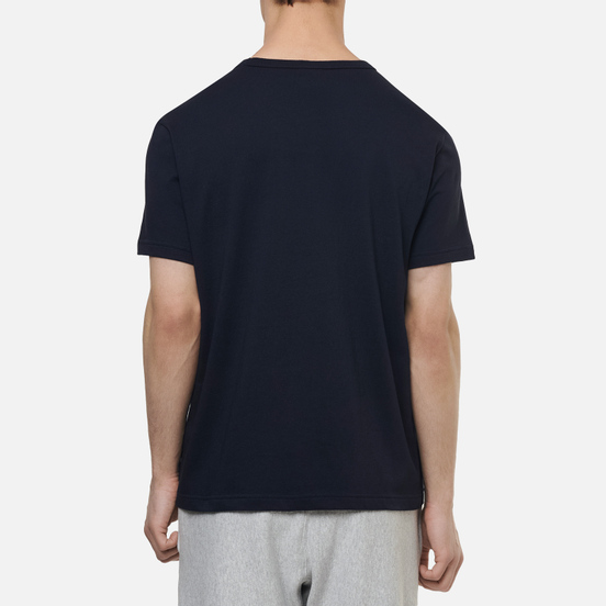 Мужская футболка Champion Reverse Weave Classic Crew Neck Premium Navy