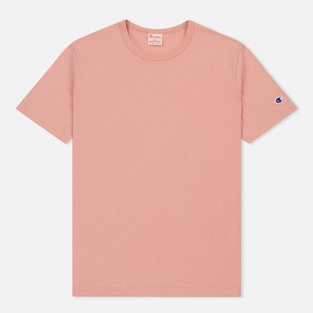 Мужская футболка Champion Reverse Weave Classic Crew Neck Premium Pink