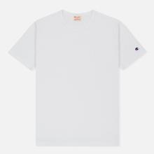 Мужская футболка Champion Reverse Weave Classic Crew Neck Premium White фото- 0