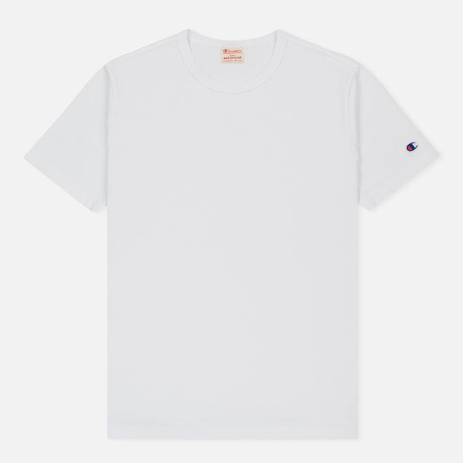 Мужская футболка Champion Reverse Weave Classic Crew Neck Premium White