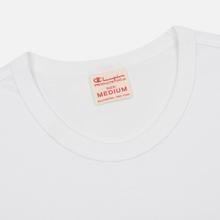 Мужская футболка Champion Reverse Weave Classic Crew Neck Premium White фото- 1