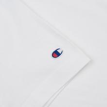 Мужская футболка Champion Reverse Weave Classic Crew Neck Premium White фото- 2