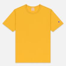 Мужская футболка Champion Reverse Weave Classic Crew Neck Premium Golden Rod фото- 0