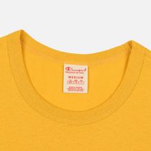 Мужская футболка Champion Reverse Weave Classic Crew Neck Premium Golden Rod фото- 1