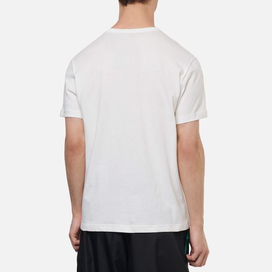 Мужская футболка Champion Reverse Weave Classic Crew Neck Script Logo White
