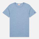 Мужская футболка Champion Reverse Weave Classic Light Blue Marl фото- 0