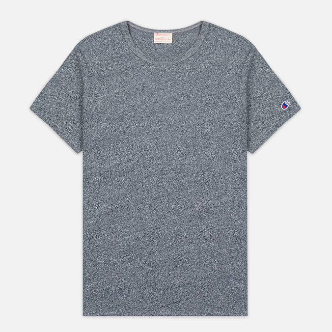 Champion Reverse Weave Classic Men's T-Shirt Navy Marl