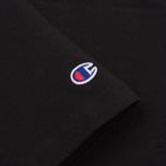Мужская футболка Champion Reverse Weave Embroidered Script Logo Black фото- 3