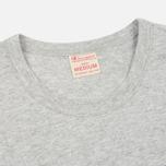 Мужская футболка Champion Reverse Weave Embroidered Script Logo Grey фото- 1
