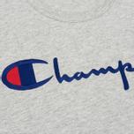 Мужская футболка Champion Reverse Weave Embroidered Script Logo Grey фото- 2