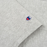 Мужская футболка Champion Reverse Weave Embroidered Script Logo Grey фото- 3