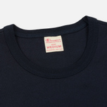 Мужская футболка Champion Reverse Weave Embroidered Script Logo Navy фото- 1