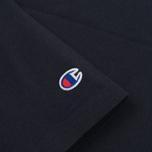 Мужская футболка Champion Reverse Weave Embroidered Script Logo Navy фото- 3