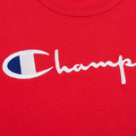 Мужская футболка Champion Reverse Weave Embroidered Script Logo Red фото- 2