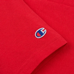 Мужская футболка Champion Reverse Weave Embroidered Script Logo Red фото- 3