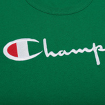 Мужская футболка Champion Reverse Weave Embroidered Script Logo Verdent Green фото- 2