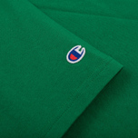 Мужская футболка Champion Reverse Weave Embroidered Script Logo Verdent Green фото- 3