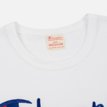 Мужская футболка Champion Reverse Weave Embroidered Script Logo White фото- 1