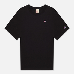 Мужская футболка Champion Reverse Weave Logo Chest & Sleeve Crew Neck Black