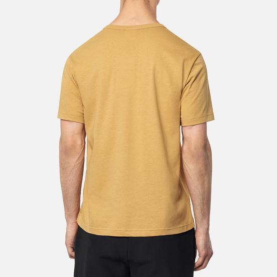 Мужская футболка Champion Reverse Weave Logo Chest & Sleeve Crew Neck Prairie Sand