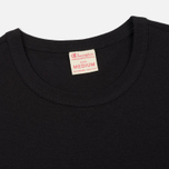 Мужская футболка Champion Reverse Weave Logo Left Sleeve Black фото- 1