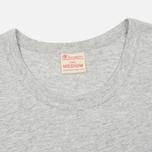 Мужская футболка Champion Reverse Weave Logo Left Sleeve Grey фото- 1
