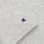 Мужская футболка Champion Reverse Weave Logo Left Sleeve Grey фото- 2
