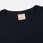 Мужская футболка Champion Reverse Weave Logo Left Sleeve Navy фото- 1