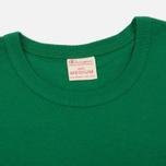 Мужская футболка Champion Reverse Weave Logo Left Sleeve Verdent Green фото- 1