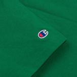 Мужская футболка Champion Reverse Weave Logo Left Sleeve Verdent Green фото- 2
