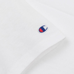 Мужская футболка Champion Reverse Weave Logo Left Sleeve White фото- 2