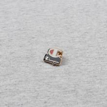 Мужская футболка Champion Reverse Weave Archive Centenary Print Crew Neck Light Grey фото- 4