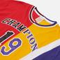 Мужская футболка Champion Reverse Weave Nbmix Crew Neck Red/Yellow/Purple фото - 1