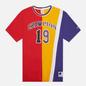 Мужская футболка Champion Reverse Weave Nbmix Crew Neck Red/Yellow/Purple фото - 0