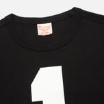 Мужская футболка Champion Reverse Weave NY Baseball №1 Black/Light Grey фото- 1