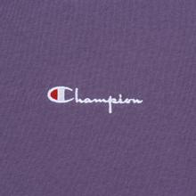 Мужская футболка Champion Reverse Weave Small Script Logo Mulled Grape фото- 2
