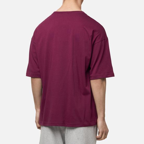 Мужская футболка Champion Reverse Weave Small Script Logo Muscle Fit Grape Wine