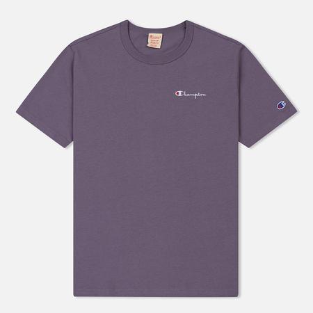 Мужская футболка Champion Reverse Weave Small Script Logo Pastel Plum