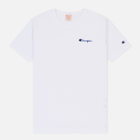 Мужская футболка Champion Reverse Weave Small Script Logo White