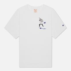 Мужская футболка Champion Reverse Weave Smaurai Character White
