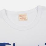 Мужская футболка Champion Reverse Weave Triple Color White/Blue/Red фото- 1